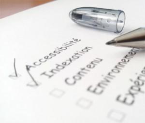 Checklist d'audit SEO papier