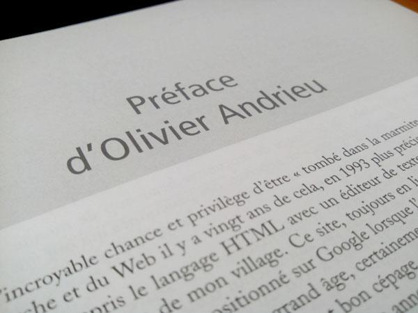 Préface du livre de Daniel Roch par Olivier Andrieu
