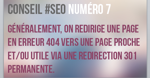 On redirige une page 404 vers l'accueil ou une page proche