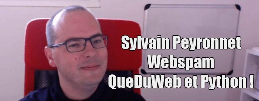 [Podcast EP.10] Sylvain Peyronnet – QueDuWeb, Webspam et Python !