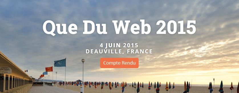Affiche que du web 2015