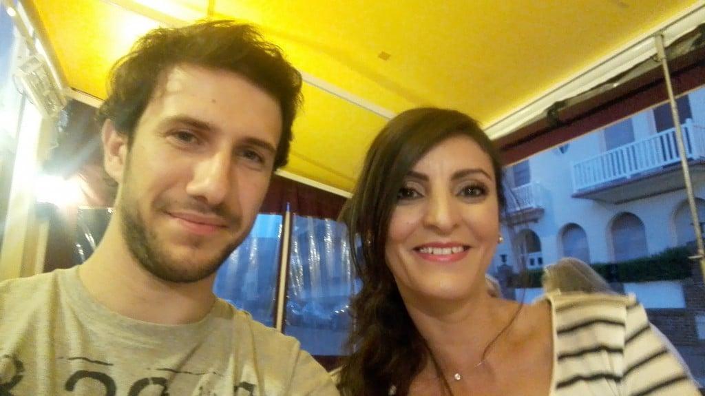 Lydia Arzour et Thomas Cubel