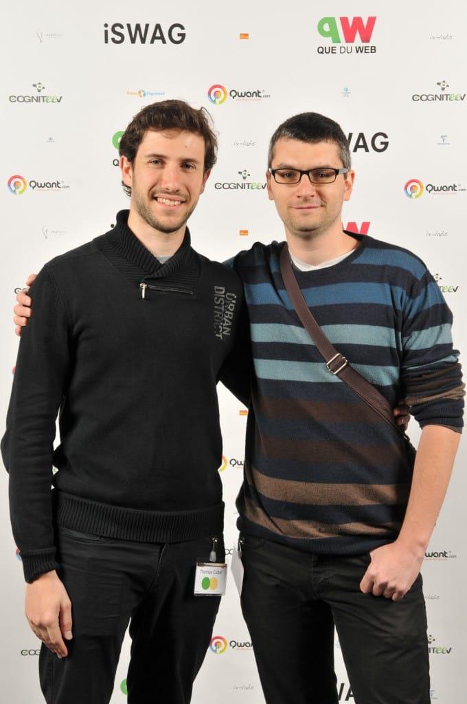 Nicolas Augé et Thomas Cubel