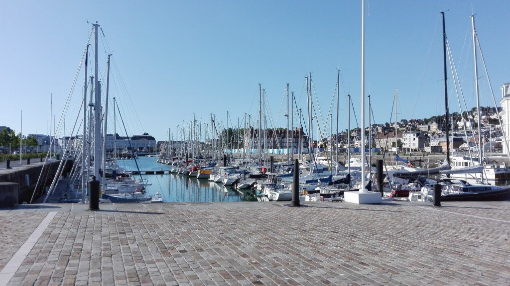Port deauville trouville