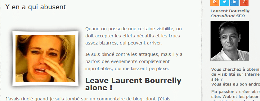 Oui Monsieur Bourrelly, il y en a qui abuse…