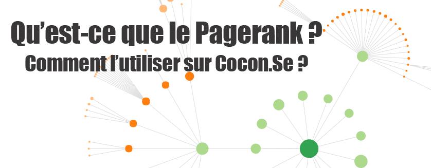 Pagerank et cocon.se